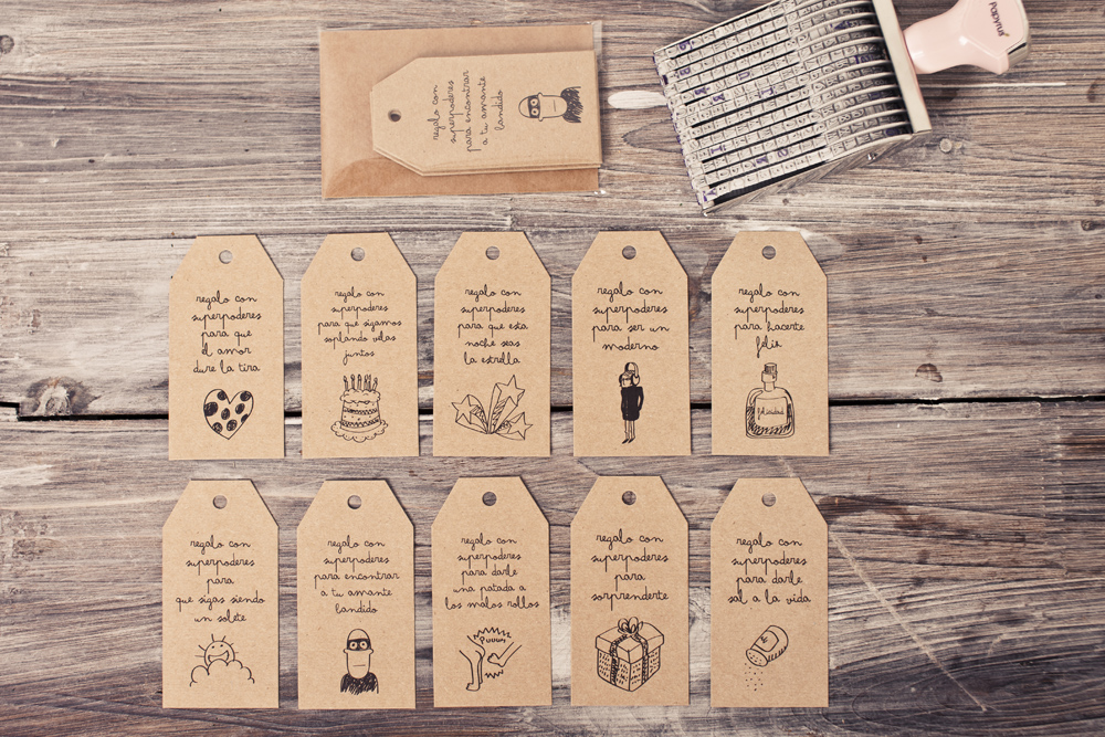 Ya est aqu el kit craft para que tus regalos sean la - Etiquetas para velas ...