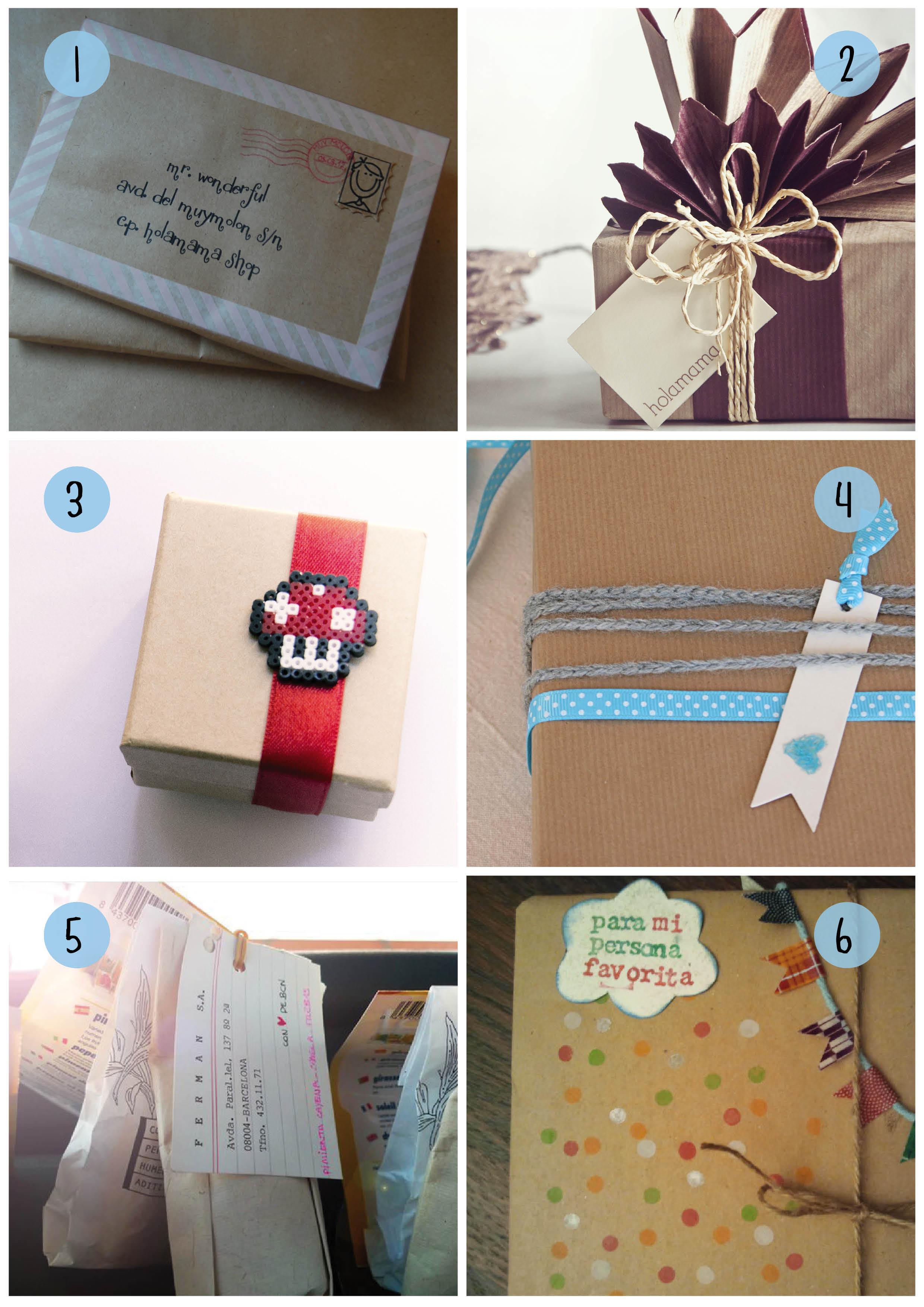Las propuestas tan chulas que nos llegaron para el - Envoltorios originales para regalos ...