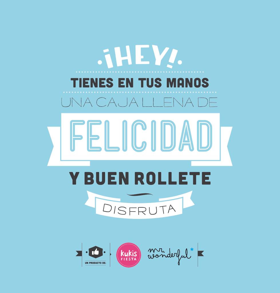 Ya est aqu la nueva colecci n de galletas mr wonderful for Frases de mister wonderful