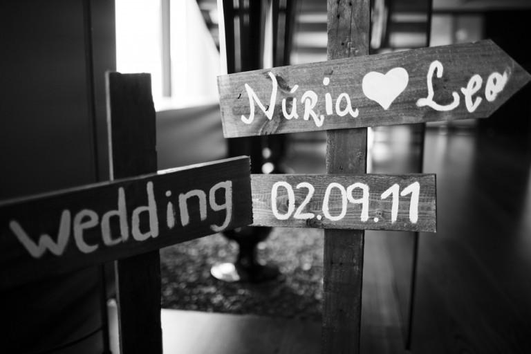 Nos vamos de boda handmade: Nuria y Leo.