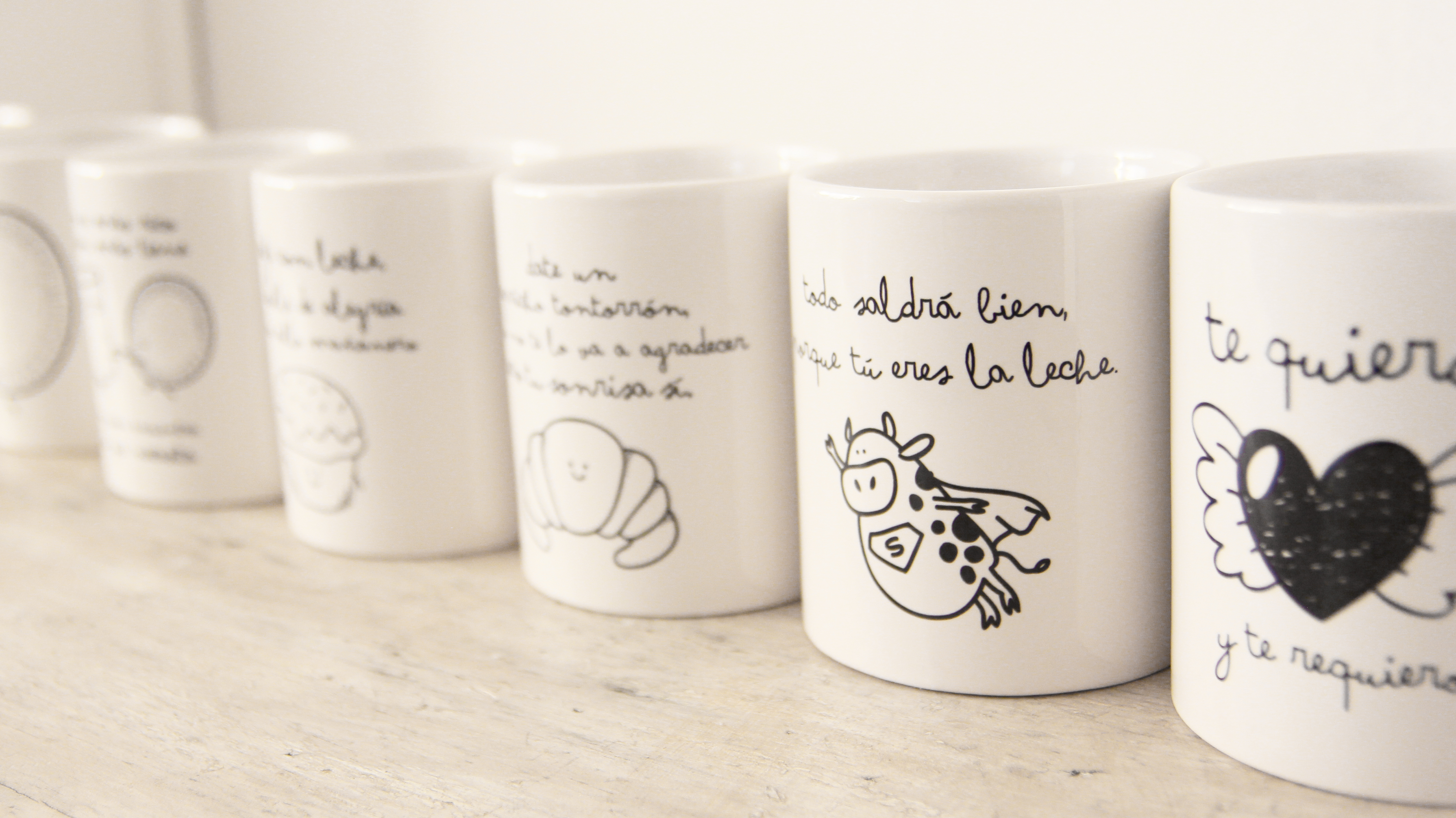 Nuevas tazas para que los cafetitos no vuelvan a ser los for Modelos de tazas