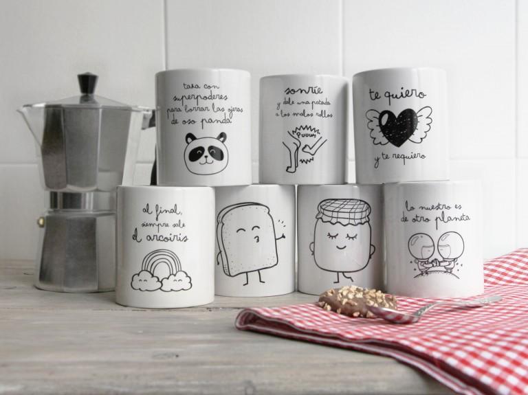 ¡Nuevas tazas! Además participa en el concurso y llévate una taza wonder by the face.