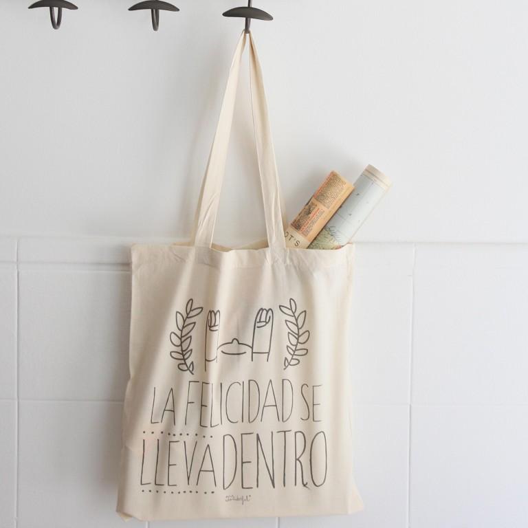 Nuevas bolsas de tela (tote bags) para moririse de bonitas y sellos molones al 10%