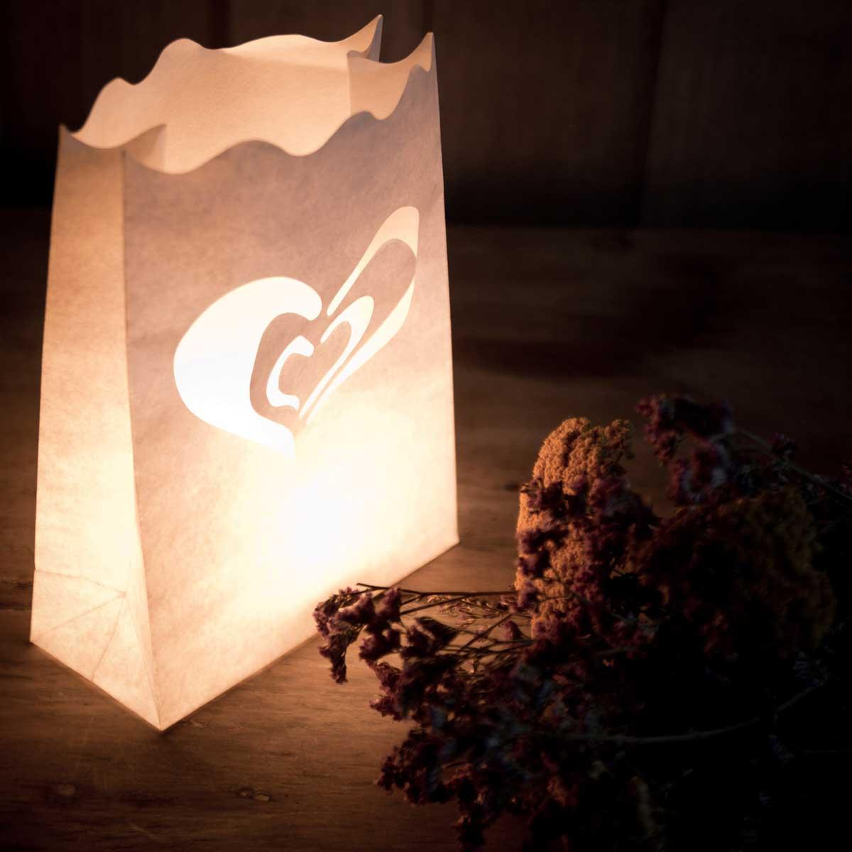 Novedades novedosas en la shop muymolon - Bolsas de papel para velas ...