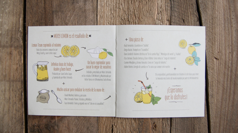Mery Lemon y su nuevo disco diseñado por Mr. Wonderful