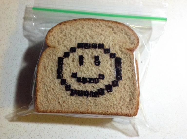 Arte en el sandwich.