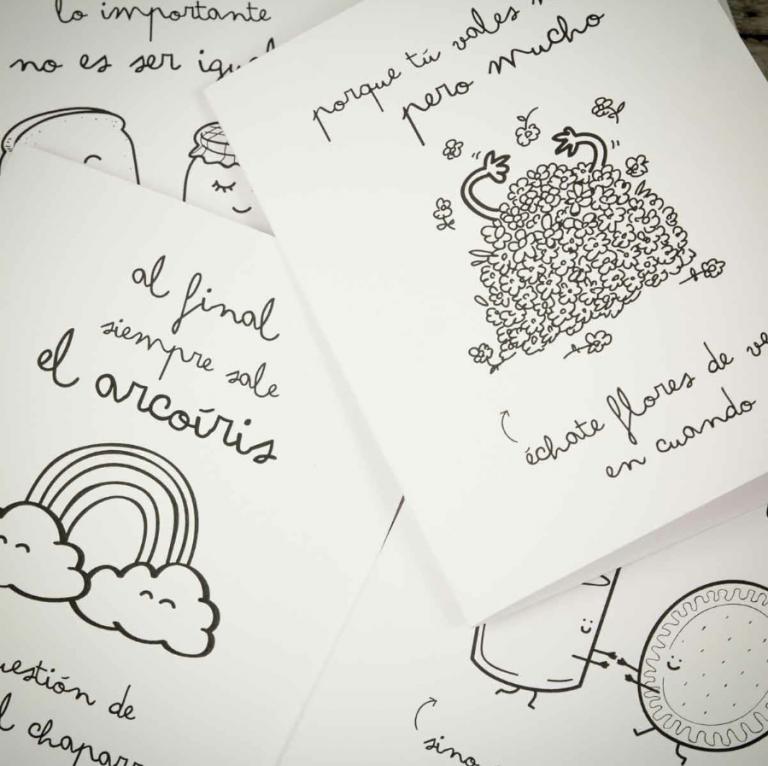 Nuevas tarjetas de felicitación con wonderconsejos y material para scrapbook