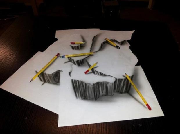 Dibujos que cobran vida