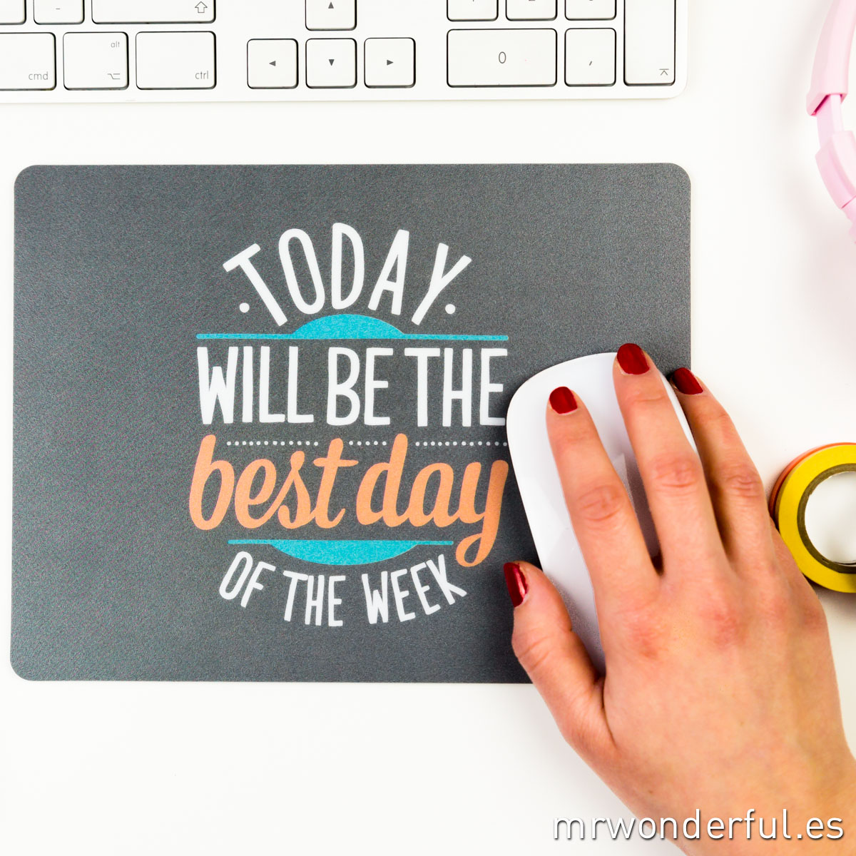 Mrwonderful_alfombrilla_today will be the best day of the week-11