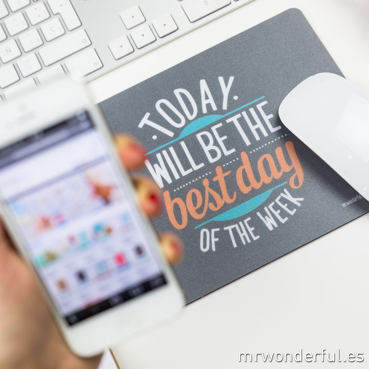 Mrwonderful_alfombrilla_today will be the best day of the week-14