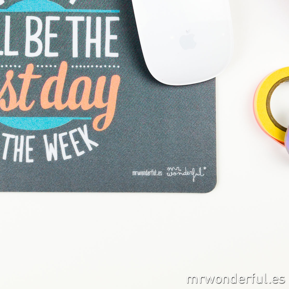 Mrwonderful_alfombrilla_today will be the best day of the week-7