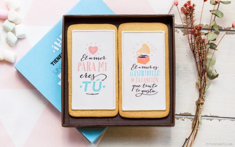 """""""El amor para mi eres tú"""", nuestra nueva colección de galletas amorosiles."""