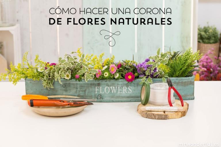 DIY – Una corona de flores para los días de verano