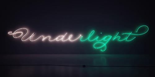 Neon Light Typography Designs
