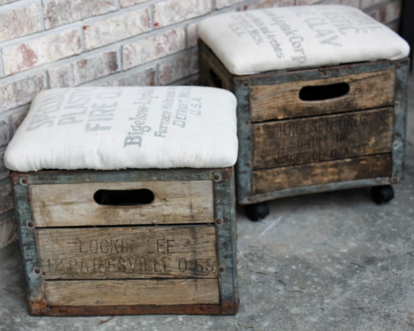 10 ideas para hacer de una caja de madera algo m s que - Estanterias pequenas de madera ...