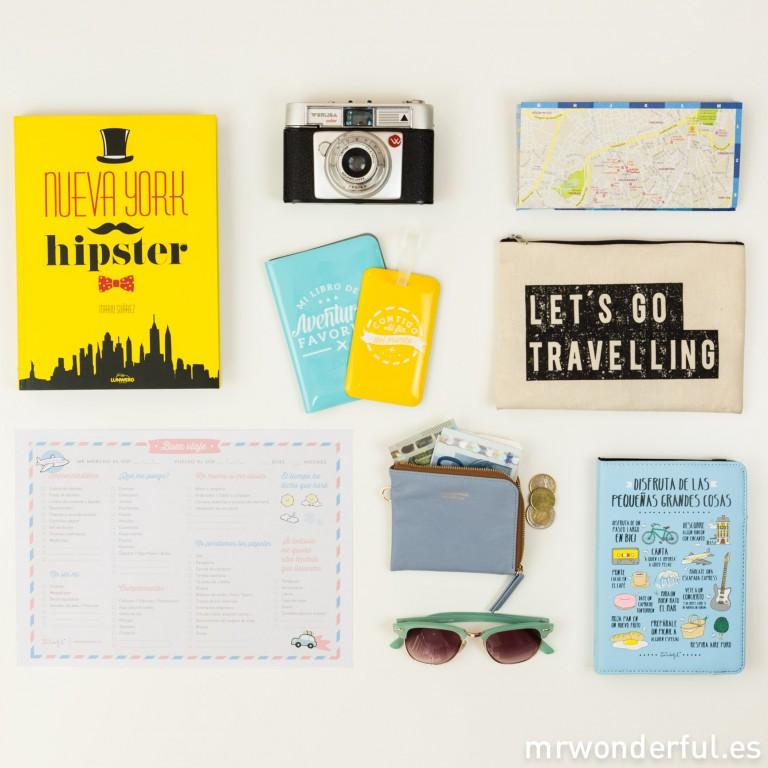 Tu maleta perfecta para las vacaciones con este descargable práctico y molón