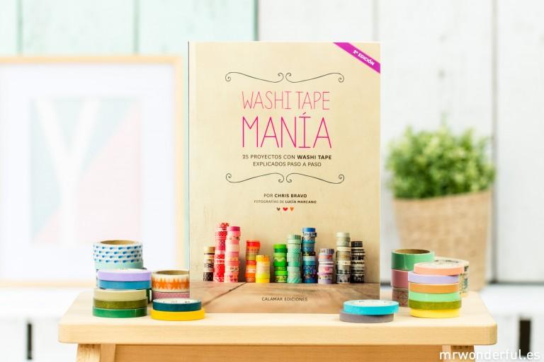 Washi Tape Manía, el libro para los adictos al washitape como yo
