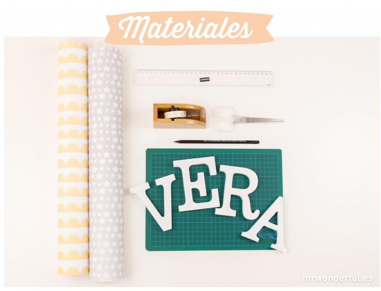 Letras bonitas para la habitación de tu peque