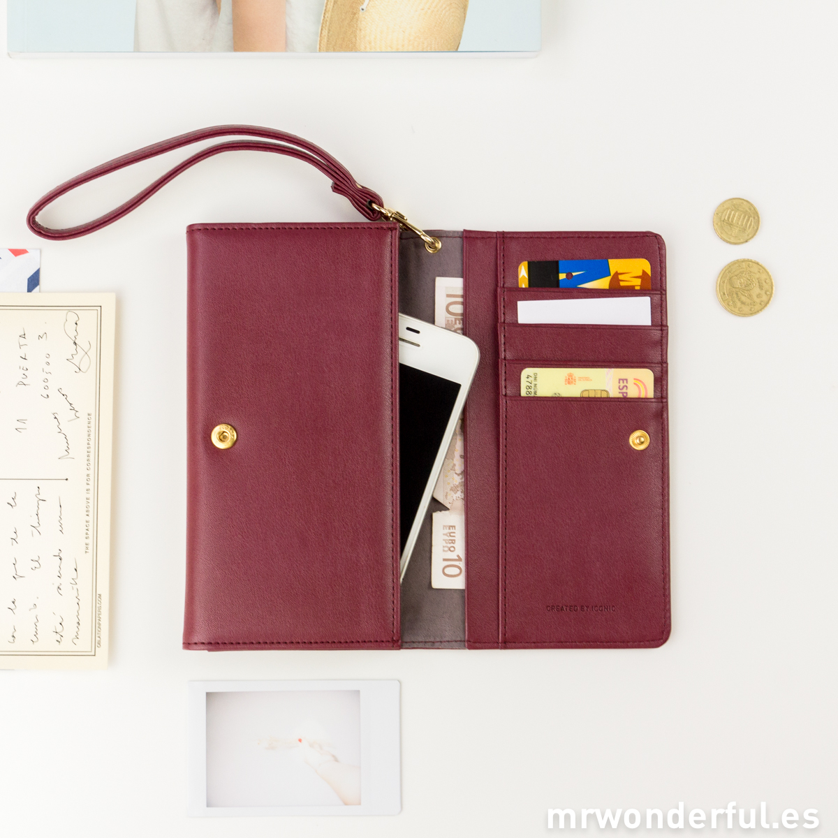 mrwonderful_24800_BURGUNDY_funda-monedero-smartphone-granate-2