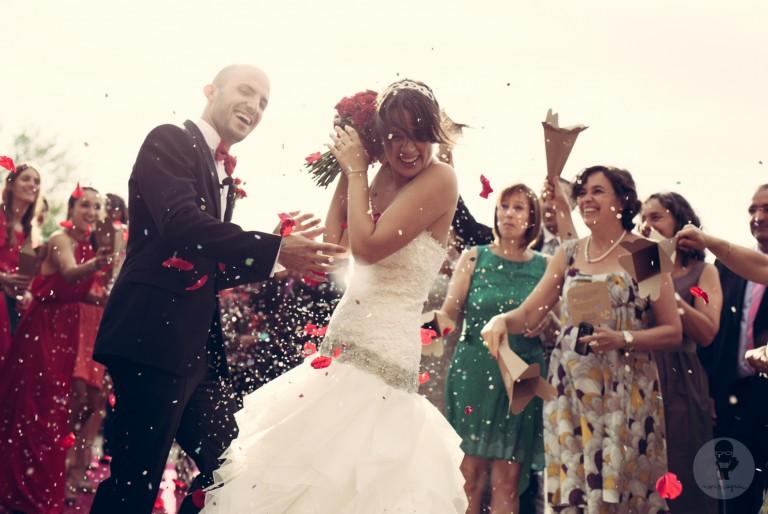 Cuando una boda es una fiesta: la boda de Esther y Ramon, unos seguidores como la copa de un pino