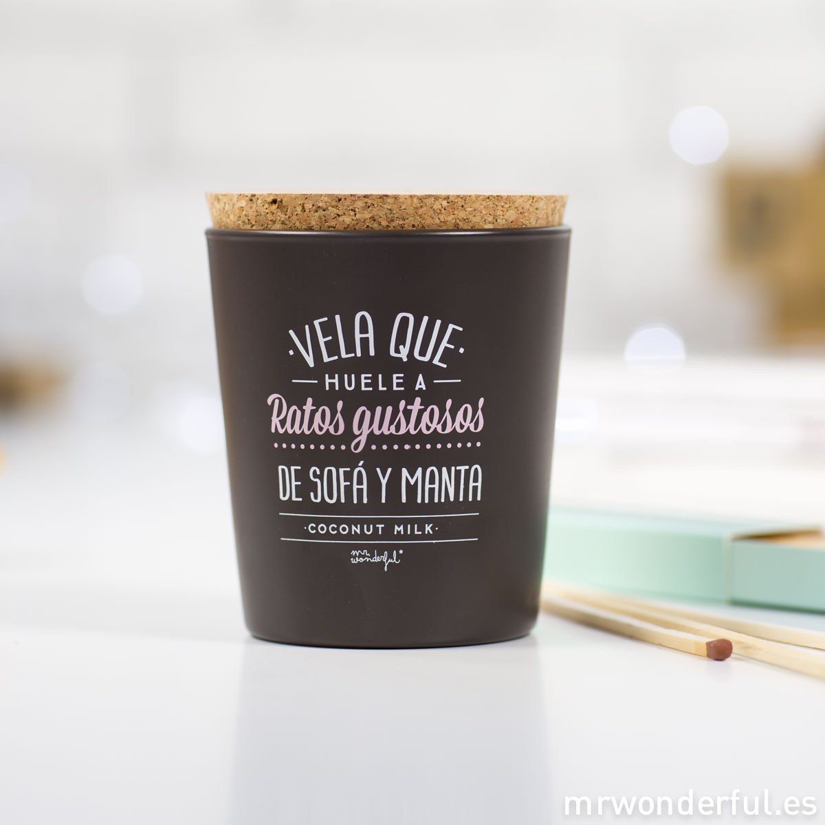 Mr.Wonderful vela que huele a ratos gustosos