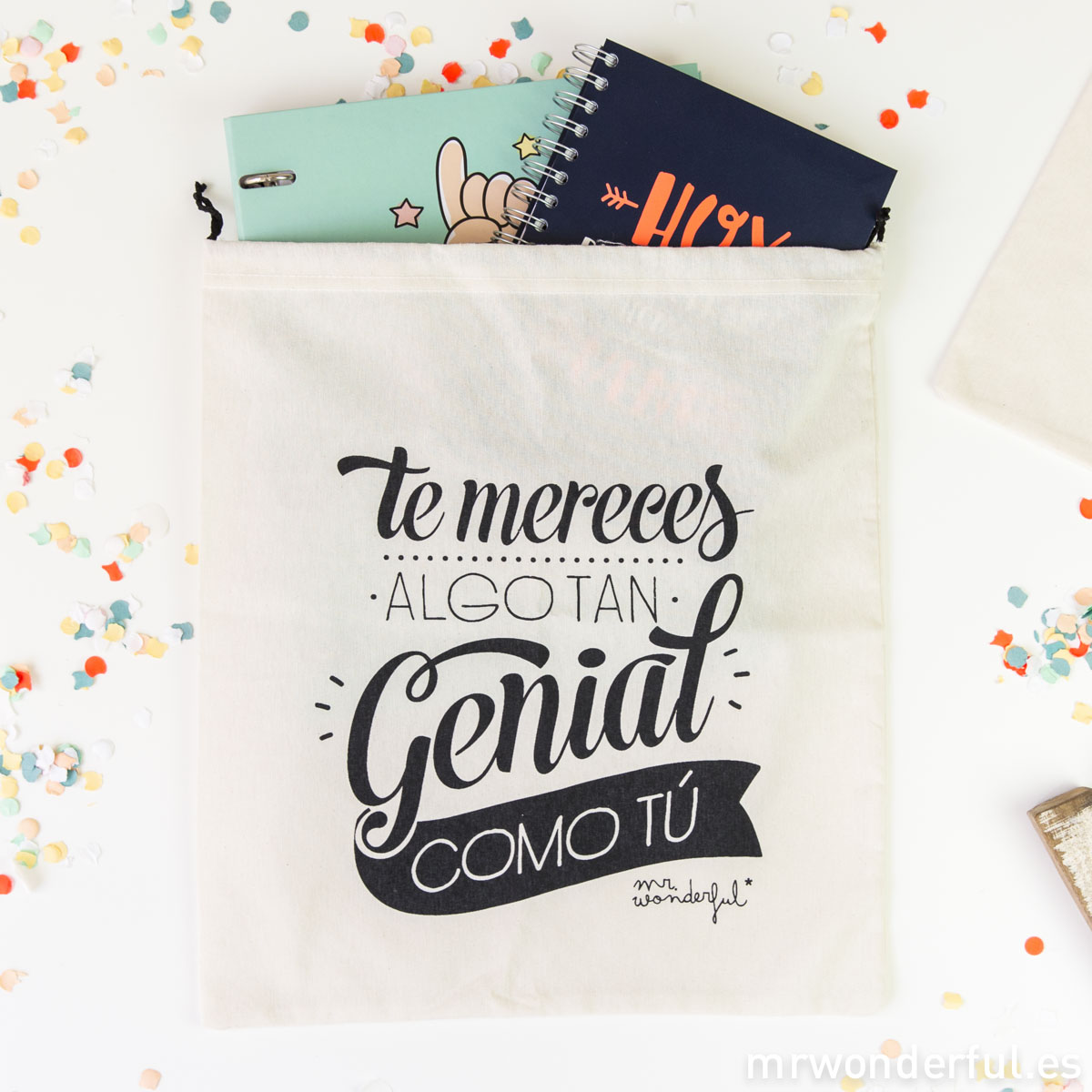 Mr.Wonderful. Bolsa Te mereces algo tan genial como tú