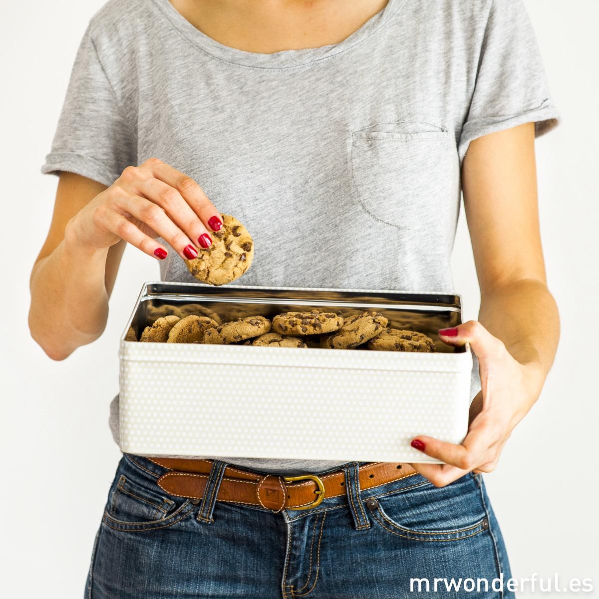 Caja metálica Mr.Wonderful. Déjate de dietas y come más galletas