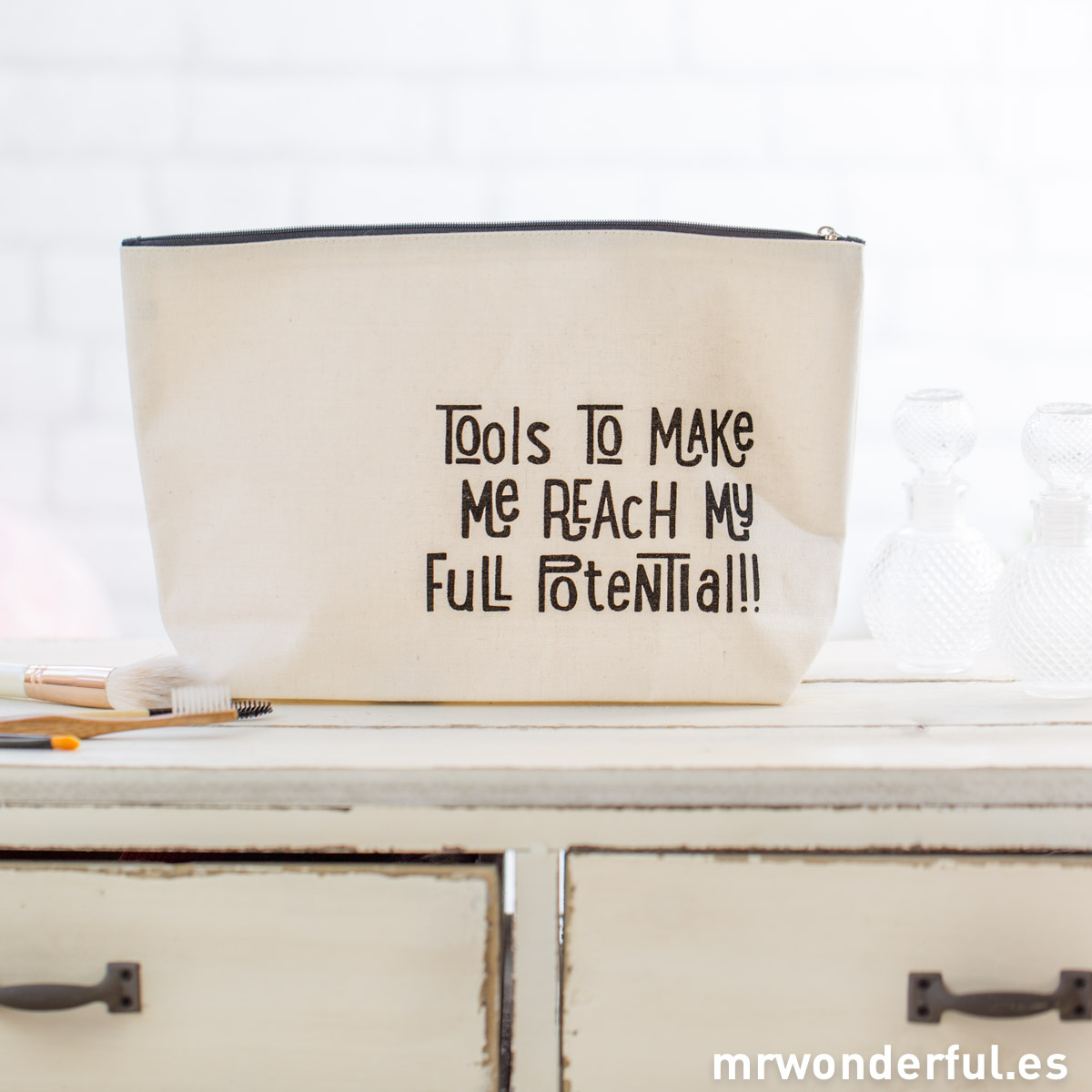 Mr.Wonderful neceser grande - tools to make me reach my full potential