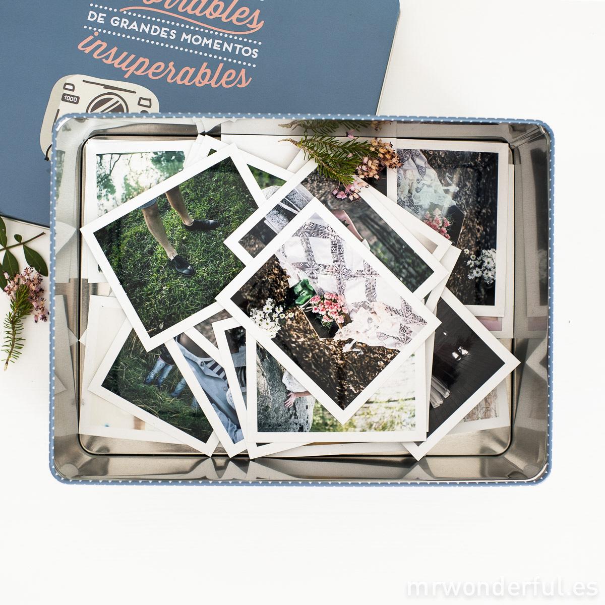 Caja metálica Mr.Wonderful- Pequeños recuerdos imborrables