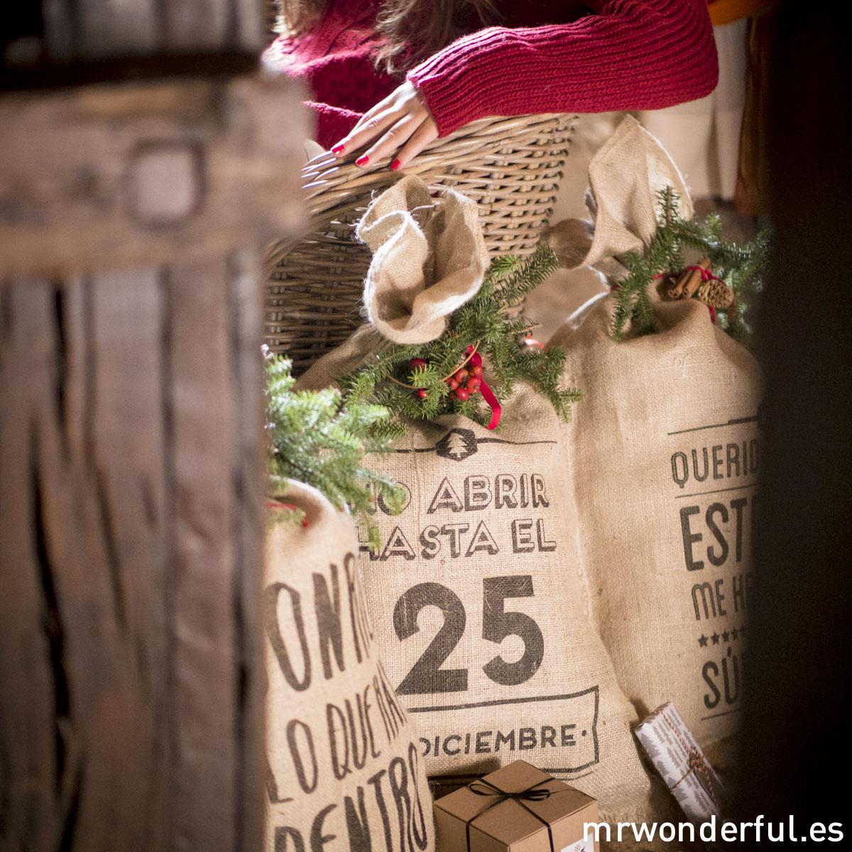 Sacos Navidad Mr.Wonderful.