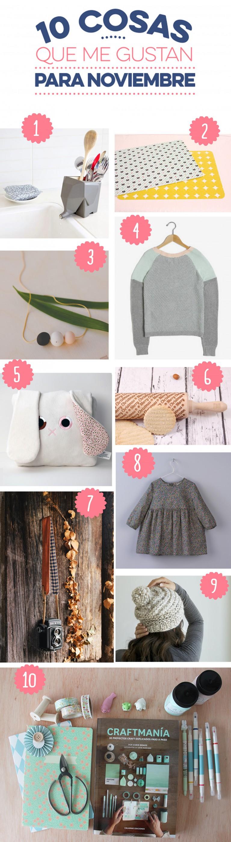 10 cosas que me gustan para noviembre
