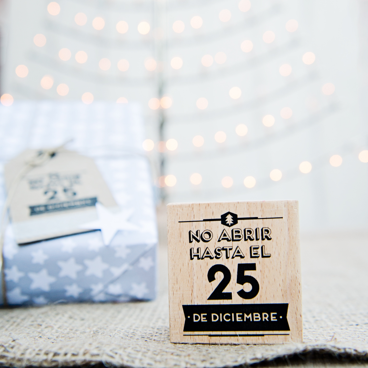 Mr.Wonderful: sello navidad no abrir hasta el 25 de diciembre