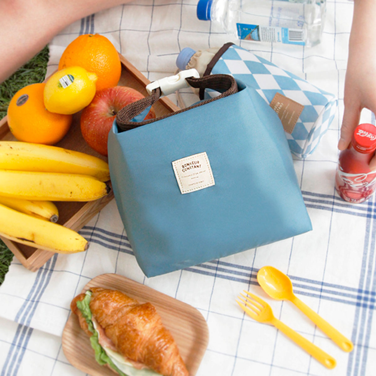 Bolsa porta alimentos azul de iconic - Mr.Wonderful
