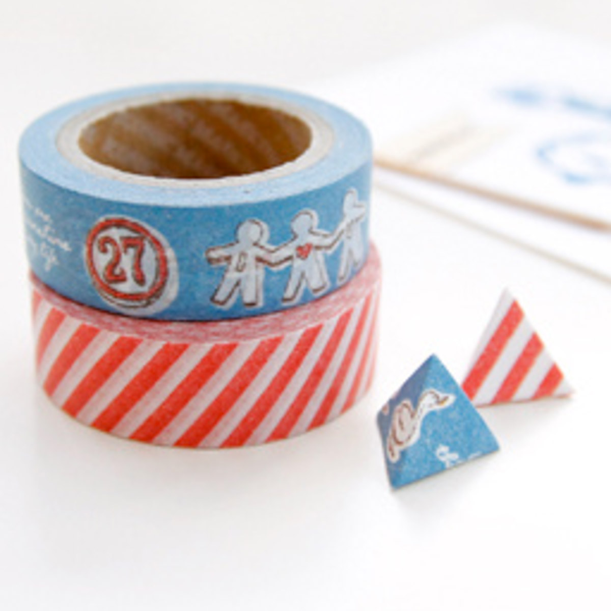 Washi tape rojo y friends de Iconic - Mr.Wonderful