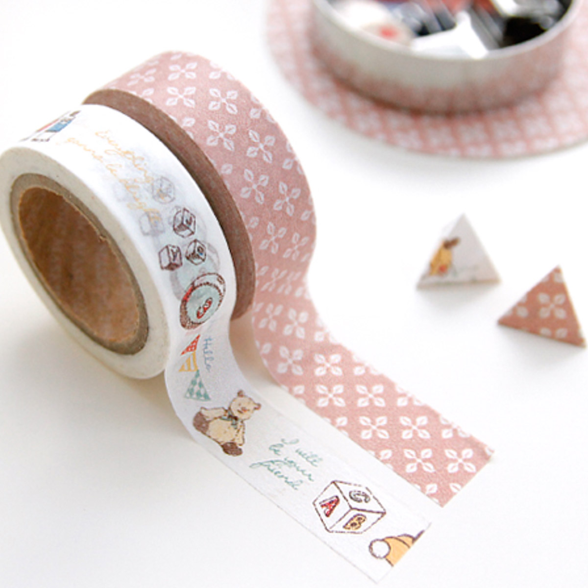 Washi tape rosa e infantil de Iconic - Mr.Wonderful