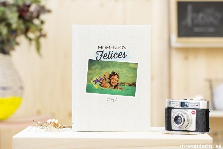 Álbumes de Hofmann con diseño de Mr Wonderful para hacer bonitos tus mejores recuerdos