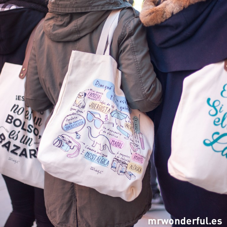 Nuevos bolsos y bolsas de tela para pasear con gracia y salero por el mundo entero