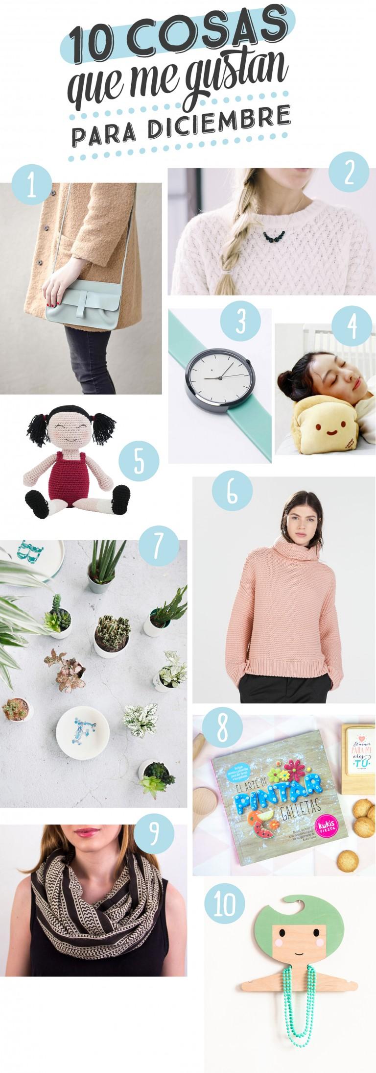 10 cosas que me gustan para diciembre