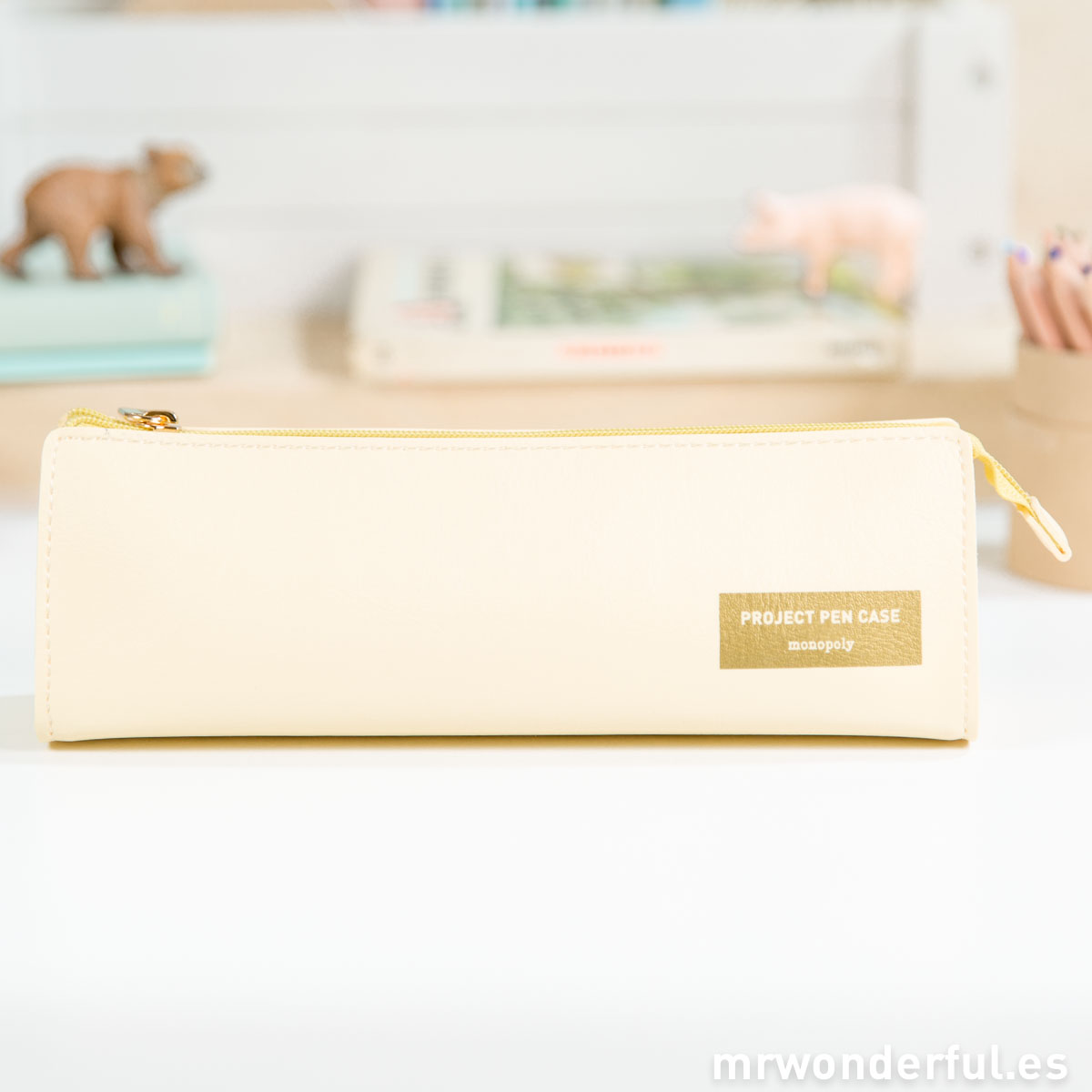Mr.Wonderful Estuche amarillo