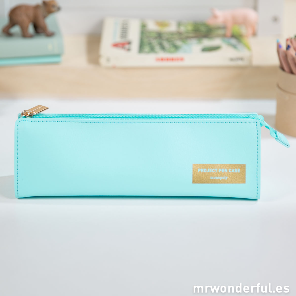 Mr.Wonderful Estuche azul