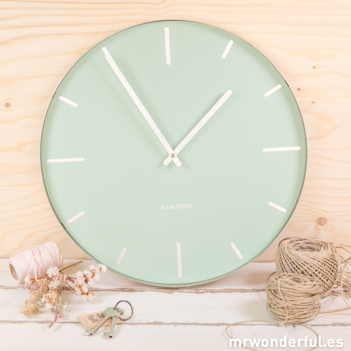 Reloj grande pared mint Mr.Wonderful