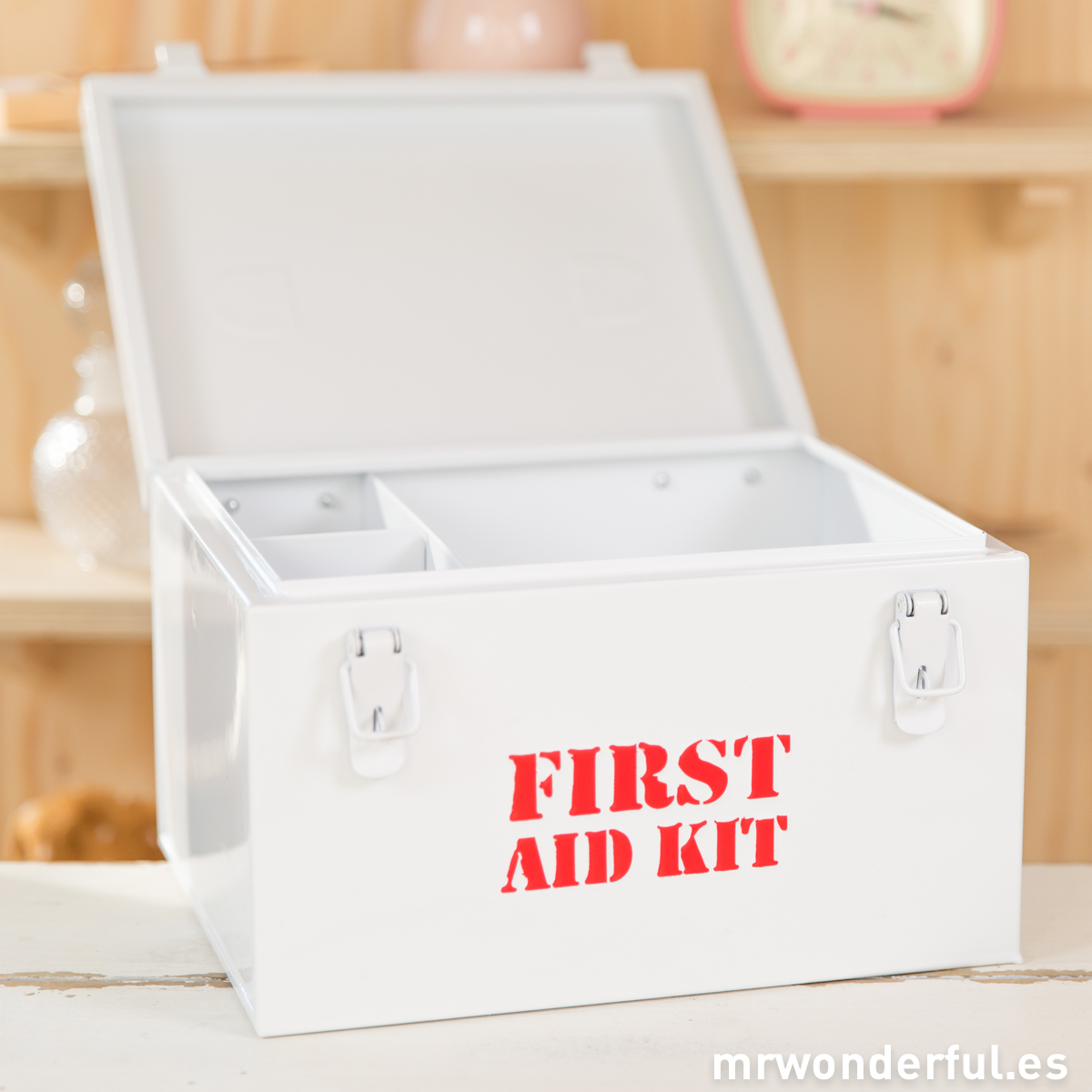 Caja metálica first aid kit Mr.Wonderful