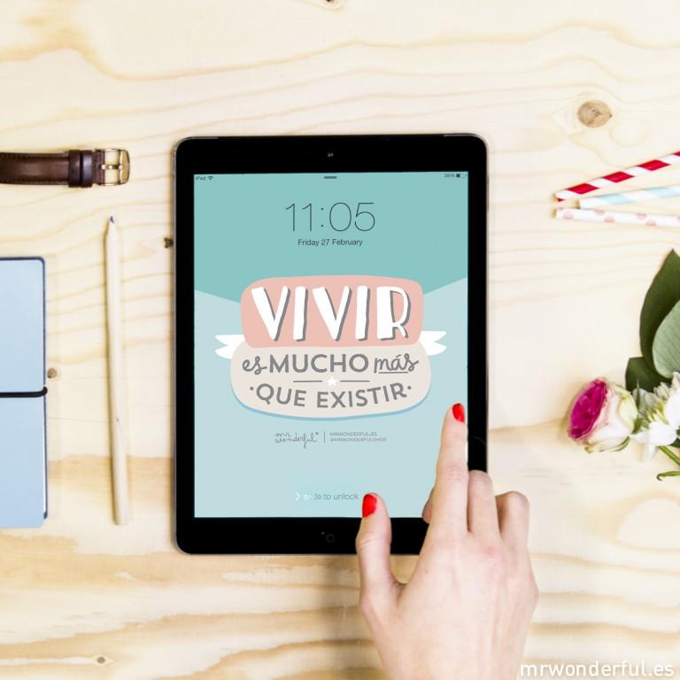 Un descargable para ordenador, tablet y móvil para dar la bienvenida a marzo