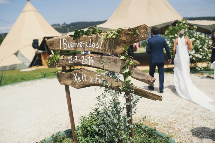 Una boda muy bohemia y muy rebonita pero, sobre todo, divertida
