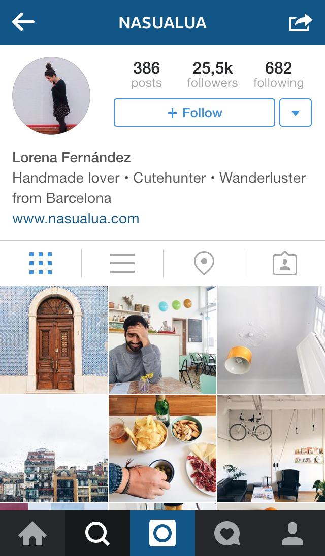 ¿A quién seguir en Instagram? Un poco de inspiración para empezar bien la semana