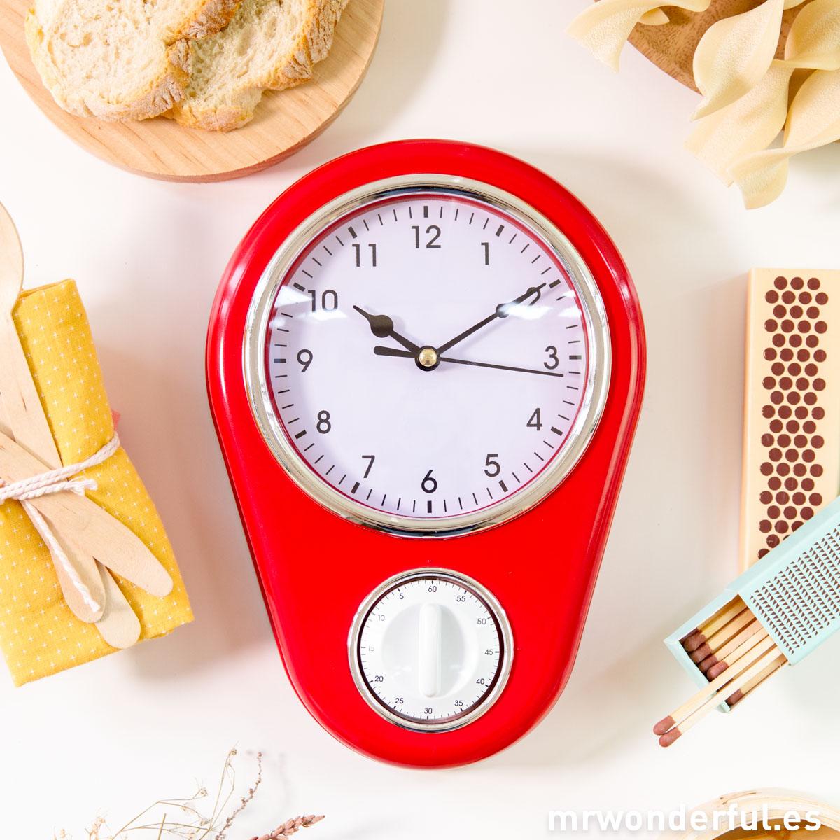 Relojes de cocina originales good fabulous reloj de pared - Relojes de cocina modernos ...