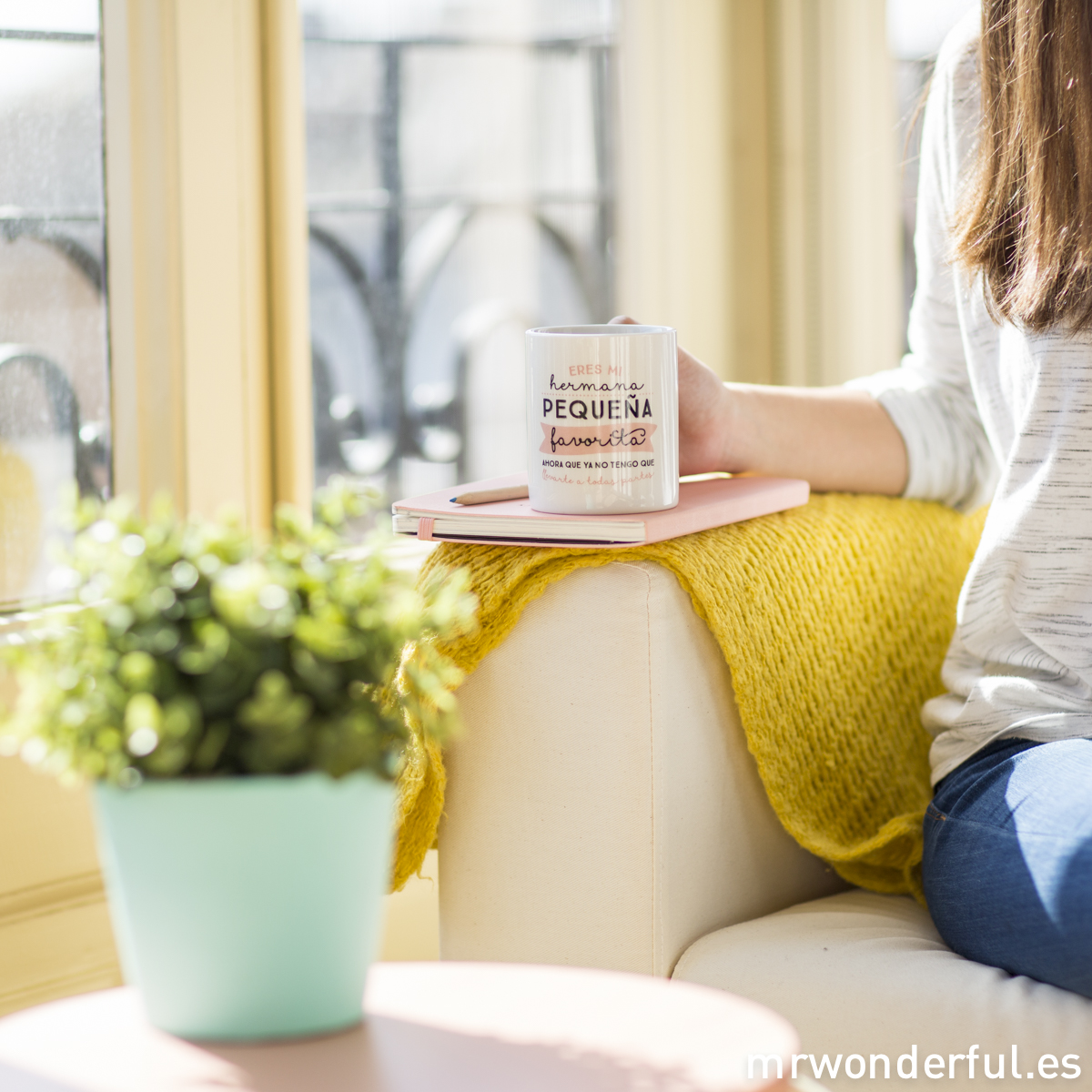 Mr.Wonderful taza hermana pequeña