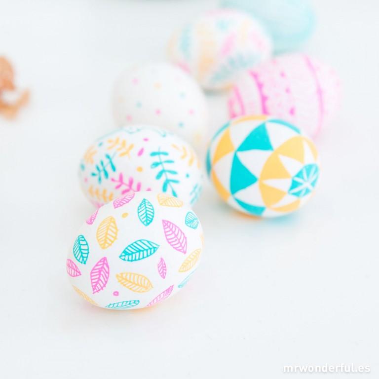 Los Huevos de Pascua más bonitos que he visto nunca