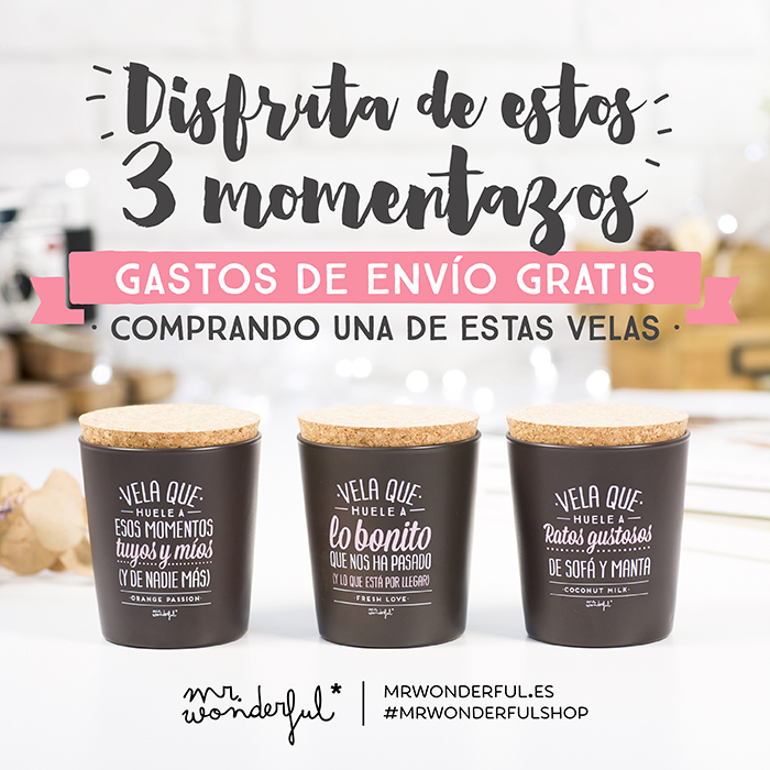 Mr Wonderful_gastos_envio_gratis_velas