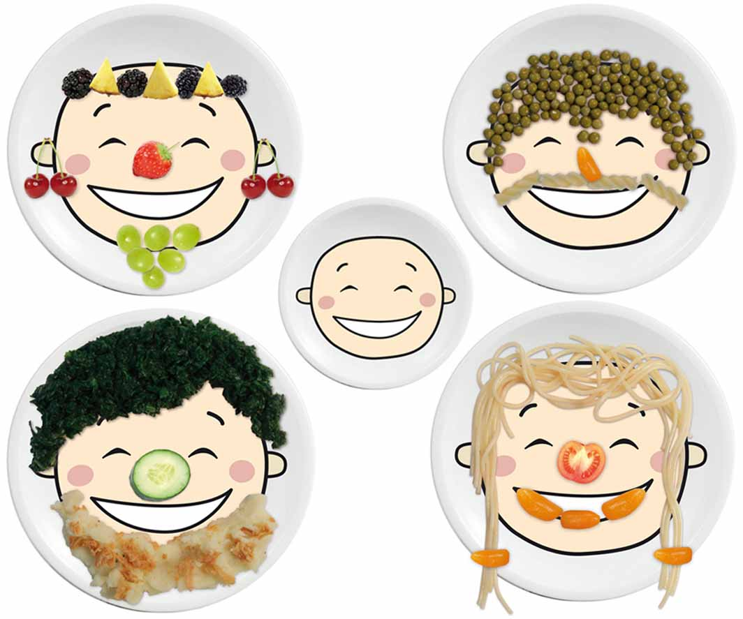 Happy Plate 1p